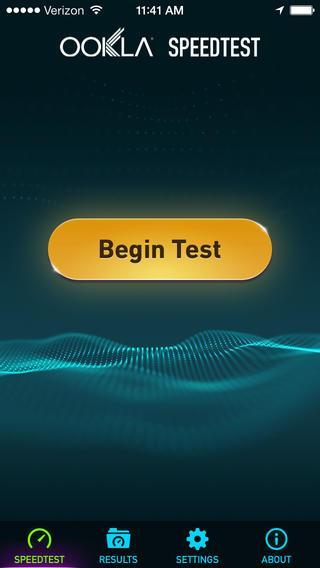 Speedtest.net Mobile Speed Test